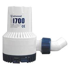 Attwood Heavy-Duty Bilge Pump 1700 Series - 12V - 1700 GPH