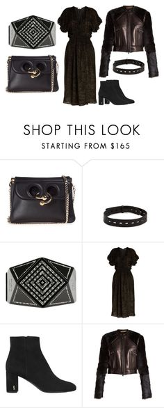 """""""The Rectangle - The Edgy - Evening Look"""" by melaniemorel on Polyvore featuring J.W. Anderson, Isabel Marant, Chanel, MASSCOB, Yves Saint Laurent and Summa"""