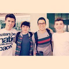 Kian, JC, Ricardo and Sam <3