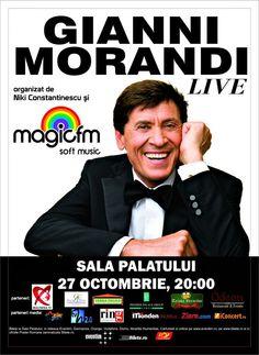 Grand Hotel Continental te trimite la concertul Gianni Morandi