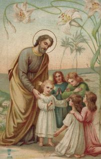 St. Joseph and The Child Jesus...Joseph faithfulness has always inspired me to not think of what I want but what God wants.