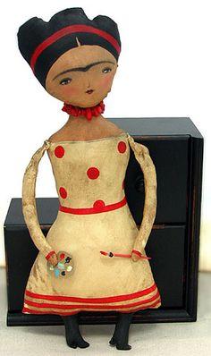 Frida Doll by Danita Art, 2008 - I want to make one!