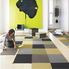 Flexible Carpet Tiles