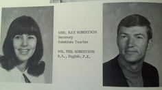Miss Kay and Phil back in the day.