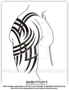 • • </strong> • Working size - [ ] x 297 mm ] • Set come with line sheet. Tribal Armband Tattoo, Tribal Shoulder Tattoos, Tribal Tattoos For Men, Mens Shoulder Tattoo, Tribal Sleeve Tattoos, Tattoos For Guys, Kadu Tattoo, Tiger Tattoo Sleeve, Temporary Tattoo Sleeves