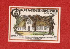 Germany Notgeld 2 mark 1921 Schleswig Holstein KEITUM SYLT #17a