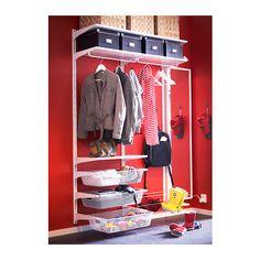 ALGOT Wall upright/rod/shoe organizer  - IKEA