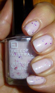 Face of Australia Nail look NOTD