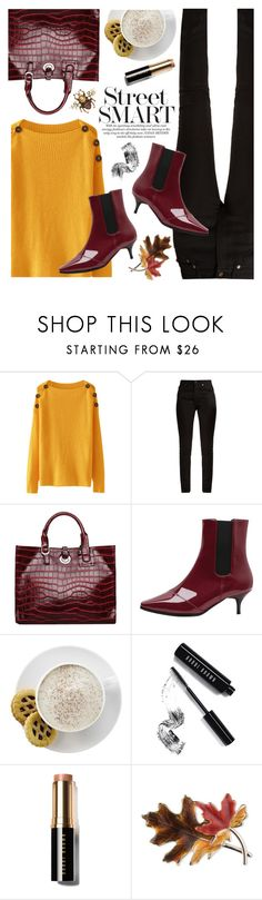 """""""OOTD"""" by yexyka on Polyvore featuring moda, Yves Saint Laurent, Mr. Coffee, Bobbi Brown Cosmetics, Anne Klein y Gucci"""
