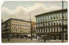 Campau Square - c. 1905