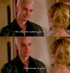 Buffy and spike.... Seriously how could she like angel more than him???