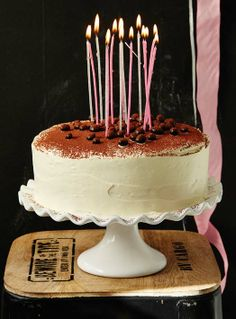 This delightfully rich cake will have everyone coming back for more! Cupcake Recipes, Baking Recipes, Cupcake Cakes, Biscuits, Rich Cake, Tiramisu Cake, Colorful Cakes, Holiday Cakes, Cake Servings