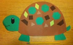 Tt turtle craft