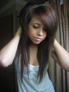 10 Best Long Scene Haircuts For Girls In 2016 Bestpickr Long Layered Emo Haircuts Emo Haircuts, Scene Haircuts, Long Bob Haircuts, Scene Hairstyles, Haircuts For Girls, Pelo Emo, Emo Scene Hair, Scene Hair Bangs, Long Scene Hair