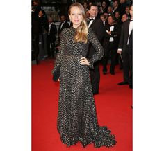 Cannes 2013 - Jennifer Meyer in Saint Laurent (Inaugurazione e montée des marches The Great Gatsby)