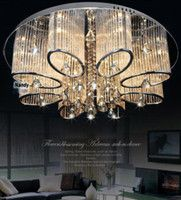 Promotion Modern Luxury Living Room Ceiling Lamp Fixture Crystal Chandelier Lighting
