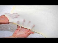 Vučeno tijesto za pite, savijače, burek | recept kako napraviti - Pasta fillo - YouTube Pastry Recipes, Bread Recipes, Baking Recipes, Cake Recipes, Serbian Recipes, Home Baking, Something Sweet, Diy Food, Sweet Recipes