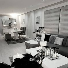 Formal Living Room Design Ideas (Pictures) You Won't Miss - WellBeingGuide Living Room Grey, Formal Living Rooms, Living Room Interior, Home Living Room, Apartment Living, Home Interior Design, Living Room Decor, Bedroom Decor, Cozy Apartment