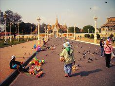 Walking the streets of Phnom Penh