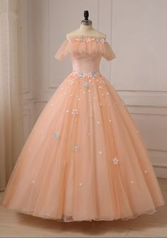 Romantic Evening One Word Led Outdoor Play Fine Gauze Dress With Short Sleeves Flowers Party Dress Formal Women Evening Dresses Pretty Prom Dresses, Homecoming Dresses, Cute Dresses, Vintage Dresses, Short Dresses, Women's Evening Dresses, Ball Dresses, Formal Dresses For Women, Dress Formal