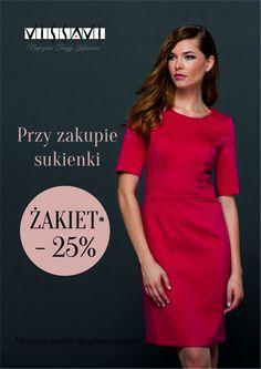 4c31de329a Do końca listopada przy zakupie sukienki żakiet  -25%  dotyczy modeli  nieprzecenionych