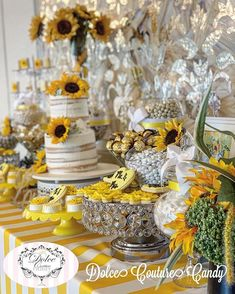 """Dolce Couture Candy on Instagram: """"Love isn't something you find... Love is something that finds you💛 Sofia🌻Michael's Wedding #candybar #candytable #candybuffet…"""""""