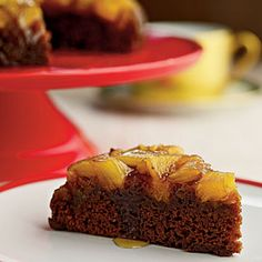 pineapples, pineappl upsidedown, cakes, food, upsidedown gingerbread