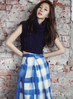 2014.08, InStyle, Baek Jin Hee