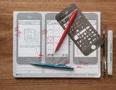 iPhone Stencil Kit: ~ Quickly sketch out iPhone UI prototypes. Brainstorm your application ideas using iPhone Stencil Kit.