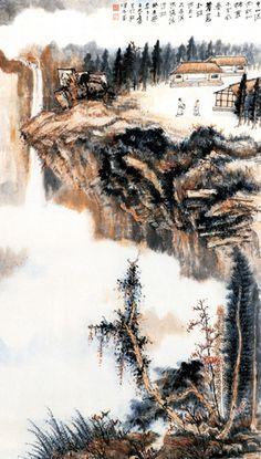 Zhang Daqian's Landscape | Chinese Painting | China Online Museum