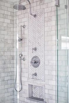 4 Prosperous Cool Tips: Large Shower Remodel bathroom shower remodel.Tub To Stand Up Shower Remodel fiberglass shower remodeling diy.Mobile Home Shower Remodel. Shower Tile, Master Bathroom Shower, Marble Showers, Bathroom Makeover, Shower Stall, Bathroom Renovations, Bathroom Shower, Bathroom Design, Master Bathroom Makeover