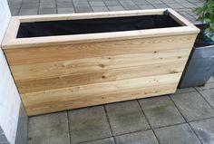 det Planter Box Plans, Wood Planter Box, Wood Planters, Patio Edging, Outdoor Projects, Outdoor Decor, Plant Box, Sustainable Design, Garden Inspiration