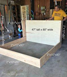 Diy headboard upholstered king furniture plans 21 Ideas for 2019 Upholstered Queen Bed Frame, Bed Frame And Headboard, Diy Bed Frame, King Headboard, Headboards For Beds, Bed Frames, Diy Upholstered Headboard, Diy Queen Bed Frame, Headboard Ideas