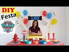 Sky Paw Patrol, Paw Patrol Party, Paw Patrol Birthday, Dog Themed Parties, 1st Birthday Parties, 4th Birthday, Cumple Paw Patrol, Fiesta Mickey Mouse, Ideas Para Fiestas
