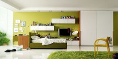 modern girl bedroom designs