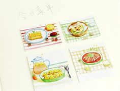 Lovely Paper Sticker Set - Personal Food