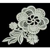I found this Embroidery Design for only: $6.25 on aStitchaHalf.com! Freestanding Lace designs are great to embellish a neckline, collars, pockets, napkins, table cloth corners and more. You receive:2 designs, a 1 color and a 2 color fsl motif
