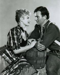 """John Wayne y Claire Trevor en """"La Diligencia"""" (Stagecoach), 1939"""
