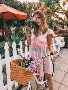 | Lemlem Summer Pink Dress | Pink Bike |