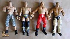 WWE Wrestling Action Figure Bundle Collection - John Cena, Jericho and more