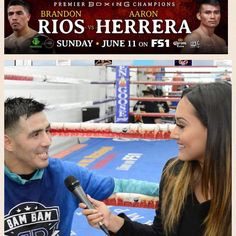 TOMORROW Fans can live stream the fights on FOX Sports GO, available in English or Spanish through the FS1 or FOX Deportes feeds. The fights are available on desktop at FOXSportsGO.com and through the app store, or connected devices including Apple TV, Android TV, Fire TV, Xbox One and Roku. In addition, all programs are also available on FOX Sports on SiriusXM channel 83 on satellite radios and on the SiriusXM app. #boxingnews #behindthegloves #heyfightfans #boxing #boxeo #FS1 #RiosHerrera