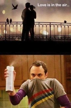 Love is in the air lol