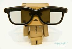 #danbo #pin #glasses #big
