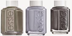 My Accessories World: Colour inspirations #1: grey #essie #grigio #grey