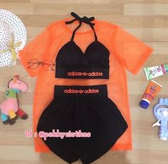 Swag Outfits For Girls, Cute Lazy Outfits, Cute Swag Outfits, Teenage Girl Outfits, Girls Fashion Clothes, Crop Top Outfits, Teen Fashion Outfits, Sporty Outfits, Teenager Outfits