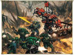 Forgeworld Working on Some Salamanders - Faeit 212: Warhammer 40k News and Rumors