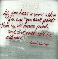 Doing what your inner voice says you can't do, is your strongest argument in life!