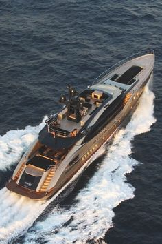 Christian Grey's luxury yacht for a luxurious life with Ana at his side. Yacht Design, Super Yachts, Luxury Travel, Luxury Cars, Luxury Yacht Interior, Luxury Hotels, Yachting Club, Cool Boats, Yacht Boat