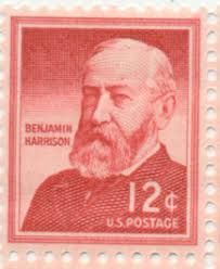 Benjamin Harrison was the grandson of the ninth president, William Henry Harrison, creating the only grandfather-grandson duo to hold the office. All Us Presidents, William Henry Harrison, Benjamin Harrison, Head Of Government, Executive Branch, Union Army, Head Of State, August 20, The Nines