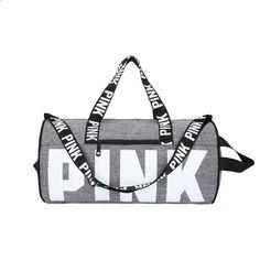WIHVE Gym Duffel Bag Black And White Skull Flowers Sports Lightweight Canvas Travel Luggage Bag